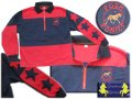 Navy/red rugby top